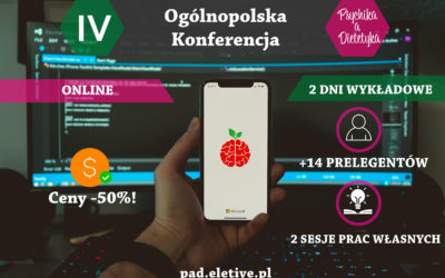 IV Ogólnopolska Konferencja PAD – online!